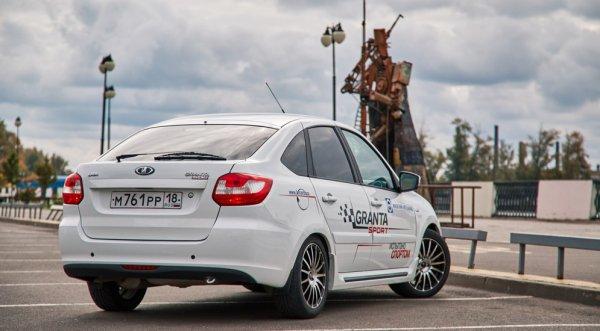 IzhAvto et LADA Sport ont dévoilé une LADA GRANTA Liftback de 128 ch !!!