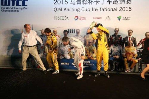 WTCC en Chine : Nick cinquième et Rob huitième du premier test du vendredi !!!
