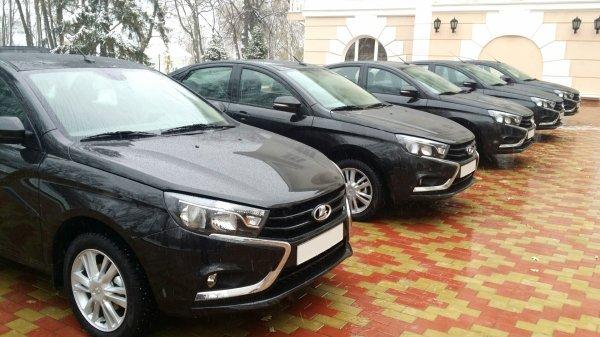 LADA VESTA pour l'administration de Samara et retour de la prime à la casse !!!
