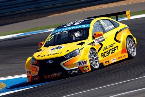 La LADA VESTA TC1 parmi les meilleures voitures de course de la saison 2015 !!!