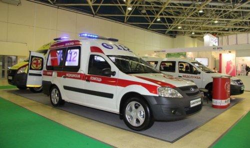 Nouvelle ambulance LADA LARGUS et marché des V.U.L. toujours en baisse !!!