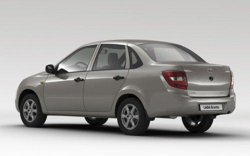 La LADA GRANTA plus que jamais la voiture la moins chère de Russie !!!