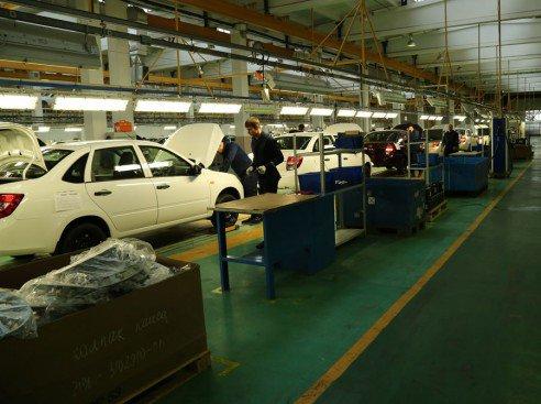 L'assemblage de la LADA GRANTA Sedan s'accélère chez Chechenavto !!!