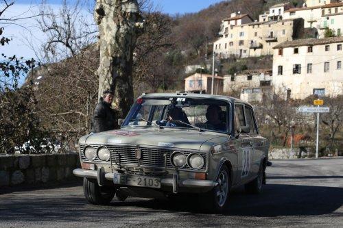 """Une LADA aux portes du """"Top 20"""" au 19ème Rallye Monte-Carlo Historique !!!"""