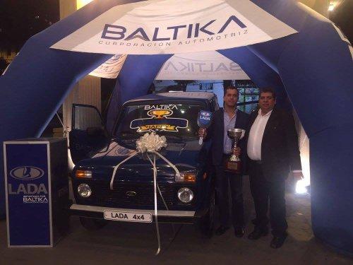 Une LADA 4x4 en récompense pour le champion d'Amérique du Sud des rallyes !!!