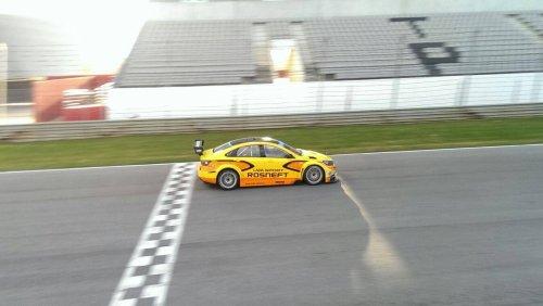 LADA Sport Rosneft satisfait de ses trois jours d'essais ensoleillés au Portugal !!!