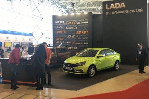 """Forum """"Goszakaz 2016"""" à Moscou et production de LADA VESTA quasi doublée !!!"""