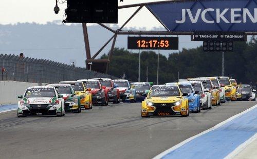 LADA Sport Rosneft globalement très satisfaite de son week-end en France !!!