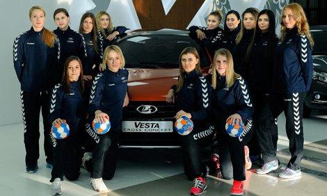Les filles de LADA en finale de la Coupe d'Europe EHF des vainqueurs de coupe !!!
