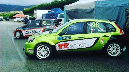 Débuts très encourageants pour LADA en championnat d'Europe FIA Euro RX !!!