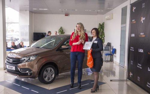 Les ventes de la LADA XRAY ont officiellement débuté en Biélorussie !!!