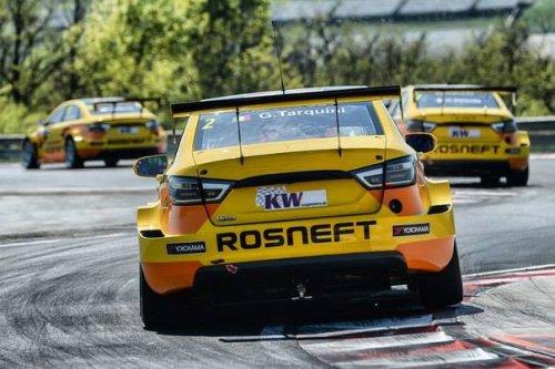"""WTCC au Maroc : les trois LADA VESTA Sport TC1 dans le """"Top 10"""" du test !!!"""