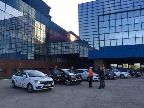AVTOVAZ et Volkswagen unis pour fêter l'amitié entre Togliatti et Wolfsburg !!!