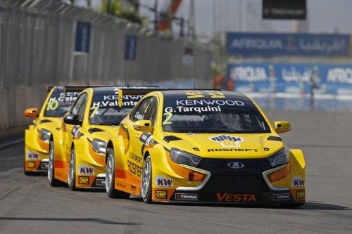 LADA Sport Rosneft satisfaite de son rythme, nettement moins de ses résultats...