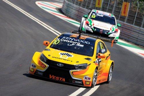 WTCC au Portugal (2) : Catsburg en première ligne sauve LADA du naufrage !!!