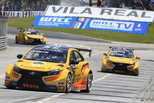 LADA Sport Rosneft satisfaite de son podium portugais et du début de saison !!!