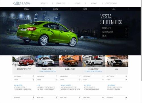 Un nouveau site internet pour l'importateur allemand LADA Automobile GmbH !!!