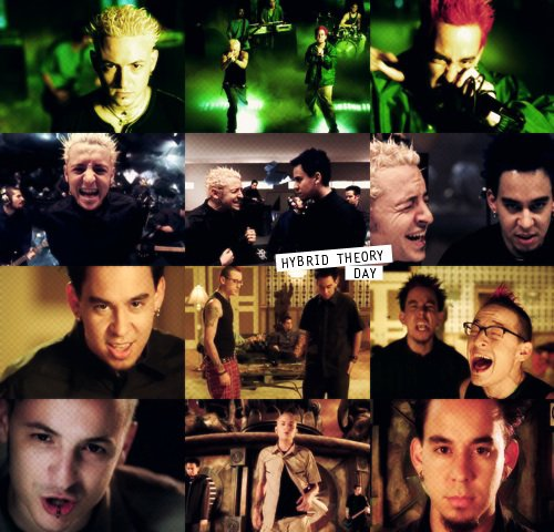 Hybrid Theory day [en retard] :$♥