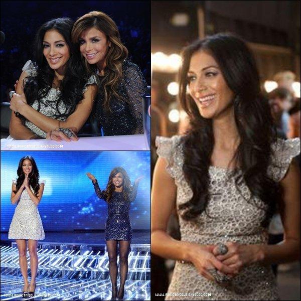.  Nicole, à l'épisode 13 et 14 sur x-Factor !  .