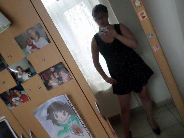 moi en robe <3