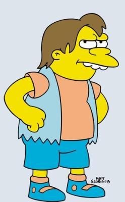 Nelson muntz simpsons forever - Homer simpson tout nu ...