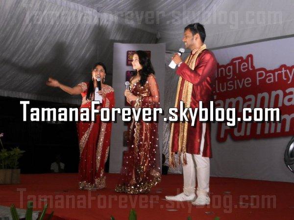 Tamannaah Promotes SingTel prepaid cards