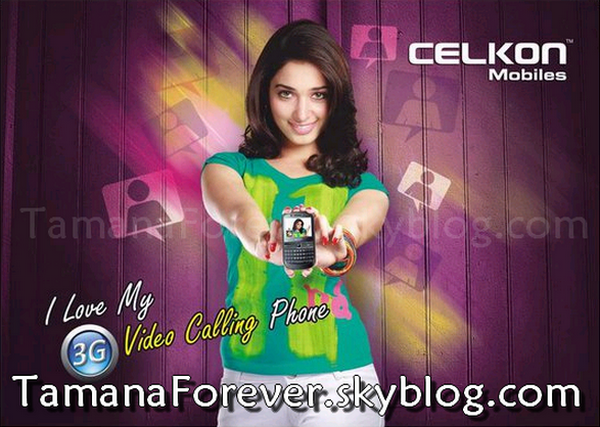 Photoshoot Of Tamanna For Celkon
