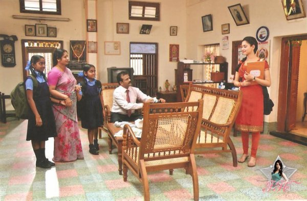 Sur le tournage de Vengai