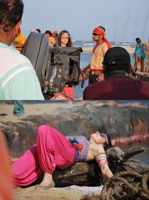 Sur le tournage de Ayan (1)