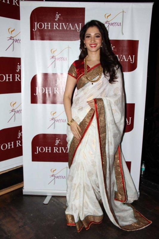 Tamanna Bhatia becomes Brand Ambassador of Joh Rivaaz Sarees
