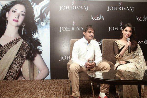 Tamanna Unveils Latest Brand of Joh Riva