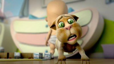 Léo le chat et Bébé Coucouche