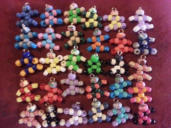 Le Petit bonhomme symbole de la marque LCDK présent sur tous nos colliers.