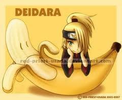 Deidara avec sa banane