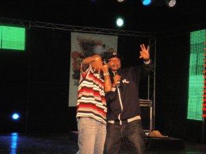 On stage... KARNAZ