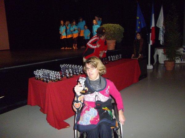 Remise des prix  à Vallauris 2011