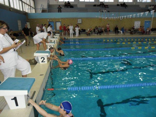 2nd journée cannes handisport natation 2012