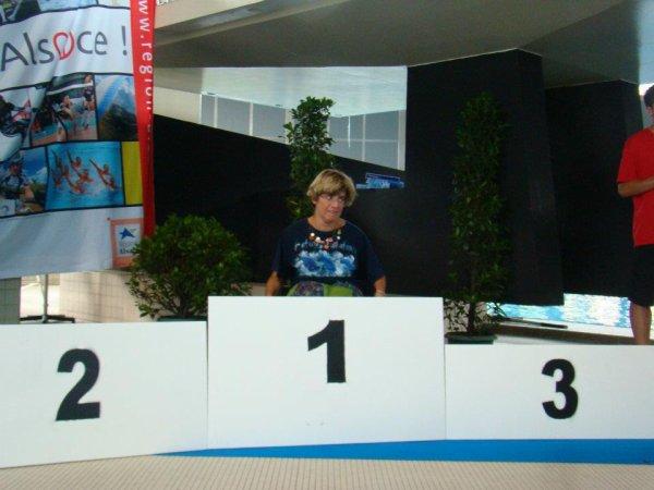 championnat de france  N1 et N 2 natation handisport stasbourg 2012