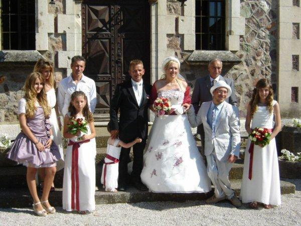 au Mariage de Sylvie P  (ma soeur)