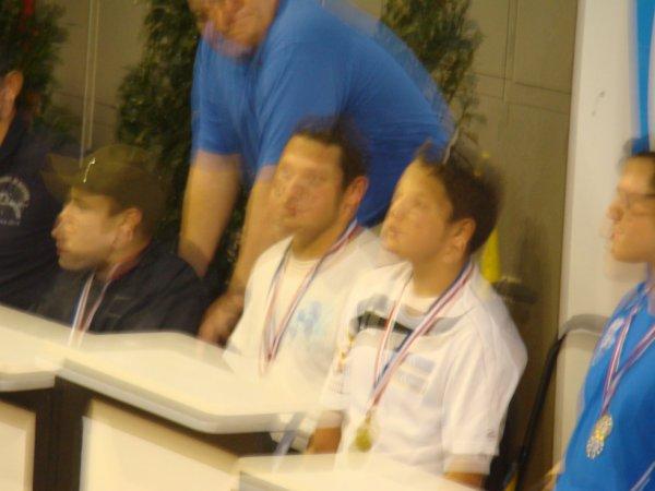 champion de France a  aix en  Provence 2014 podium  50m dos