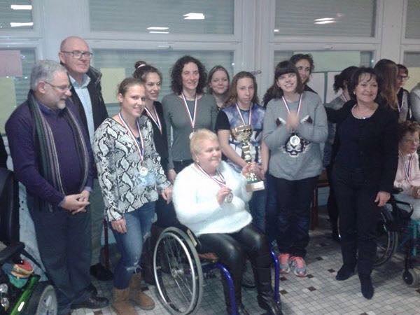 championnat de France des  regions podium filles a  angers 2015