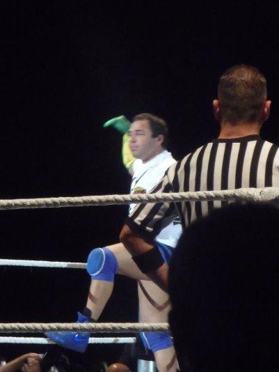 1er combat : Santino Marella vs Drew Mc Intyre