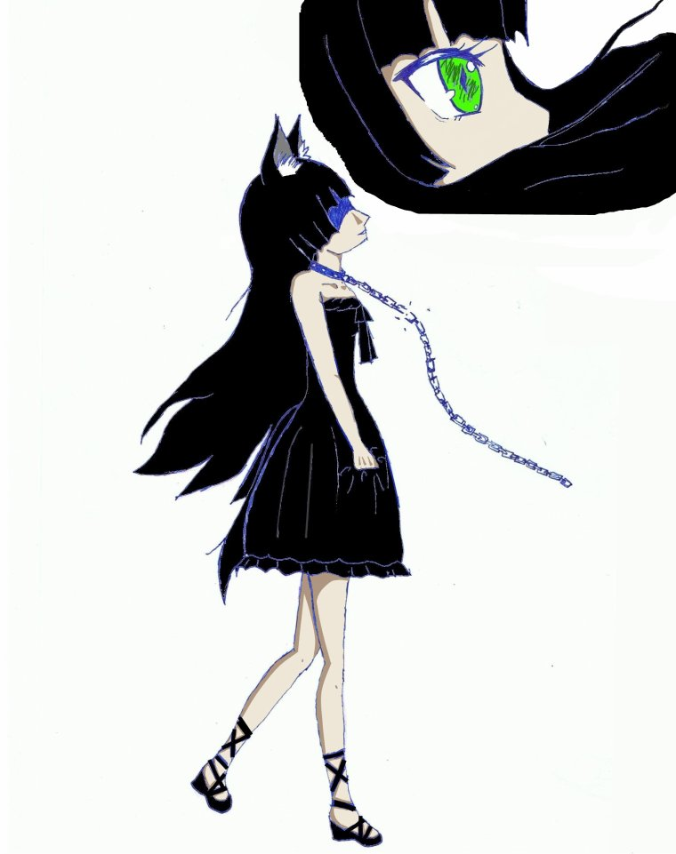 ma petite soeur qui et ma louve noir !! ♥♥♥