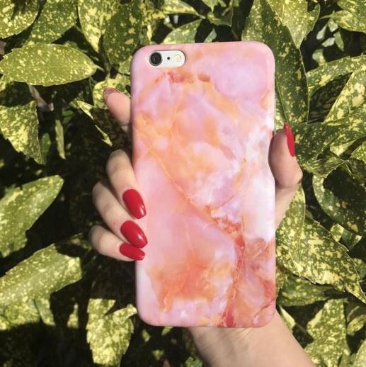 SUNSET MARBLE CASE