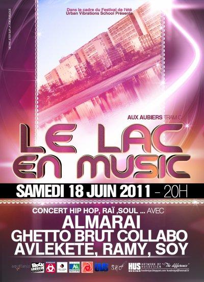LE LAC EN MUSIC (FESTIVAL DE L'ETE EDITION 2011)