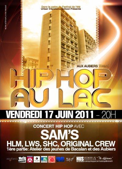 HIP HOP AU LAC (FESTIVAL DE L'ETE EDITION 2011)