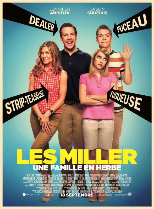 Les Miller, une famille en herbe.
