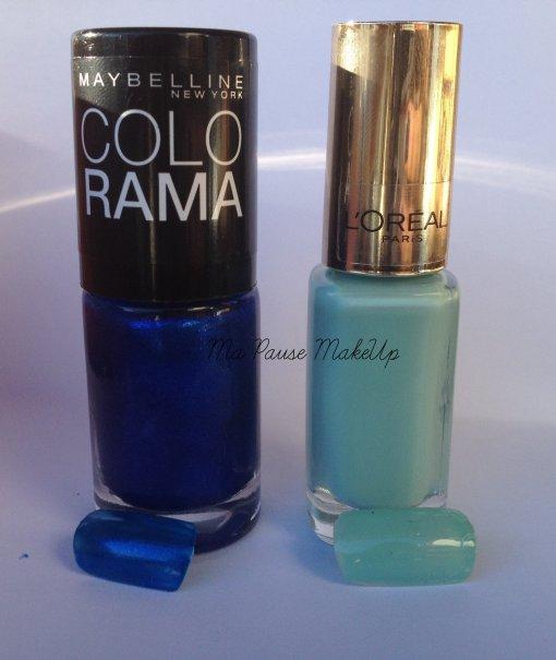 # Nouveaux achats - Vernis Gemey Maybelline & L'Oréal