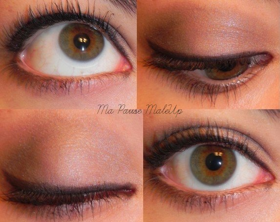 # Maquillage yeux discrets