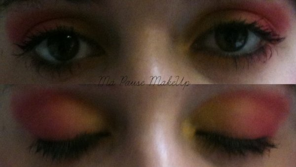 "# Maquillage yeux ""Gourmandise"""